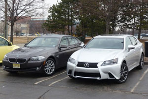 Lexus GS 350 F Sport vs BMW 528i xDrive