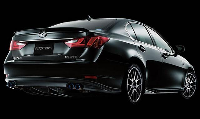 Lexus GS TRD Kit in Obsidian