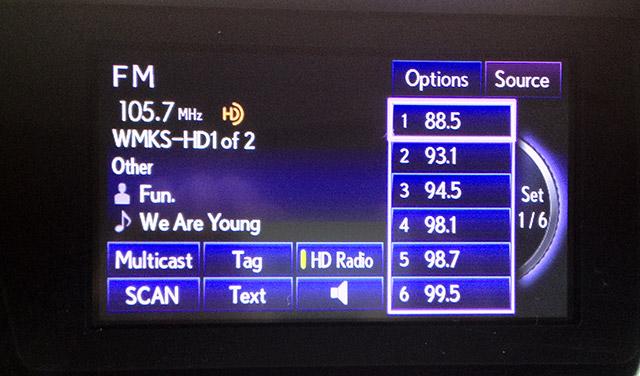 Lexus Display Audio Controller Radio