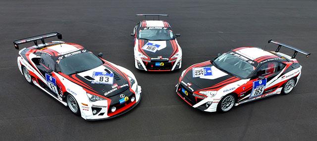 Lexus LFA & Toyota GT 86 Gazoo Racing