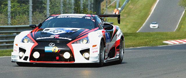 Lexus LFA Nürburgring Race