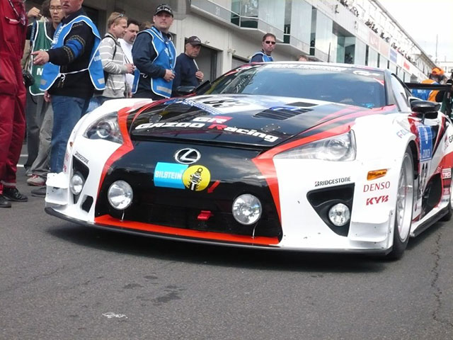 Lexus LFA at the Starting Grid