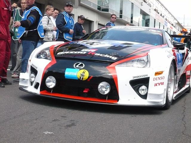 Lexus LFA at the Starting Grid