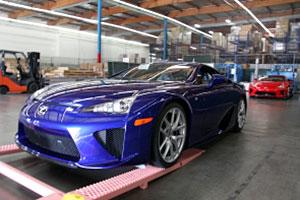 Lexus LFA Delivery
