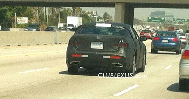 2013 Lexus LS Rear