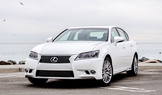 Lexus GS 450h in Orange County