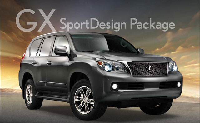 Lexus GX SportsDesign Package