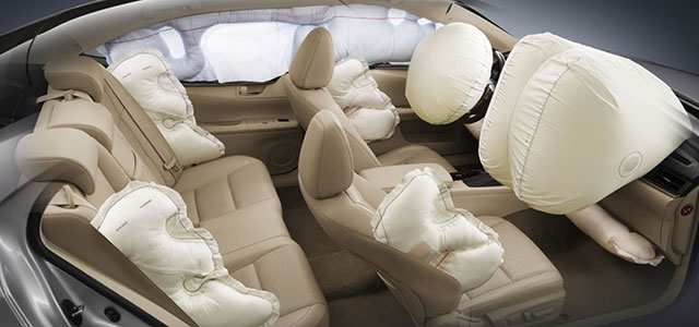 Lexus ES Ten Airbags