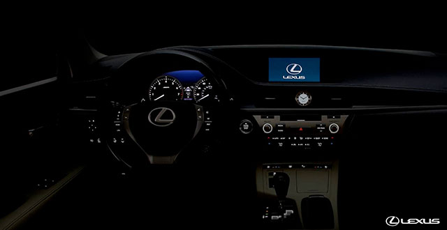 Lexus ES Ambient Lighting