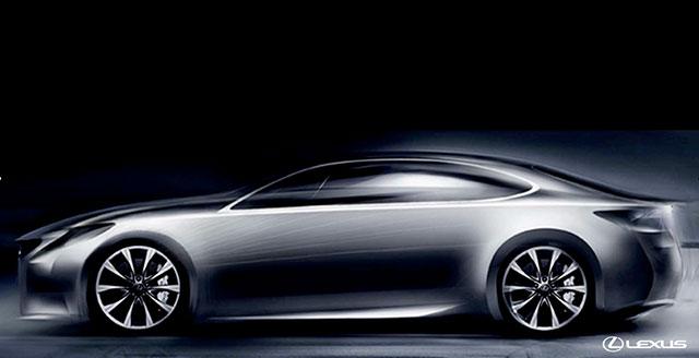 Lexus ES Concept Sketch