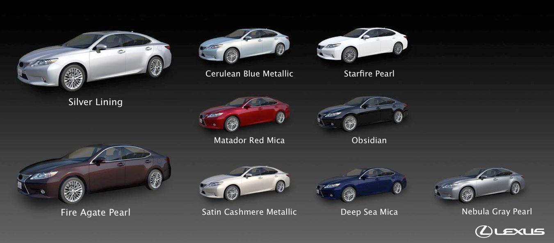 Lexus Paint Colours Is