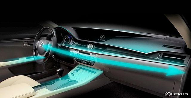 Lexus ES Interior Design Concept