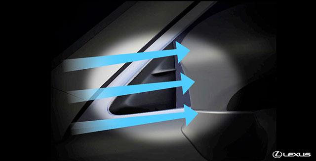 Lexus ES Side Mirrors