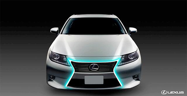 Lexus ES Spindle Grille