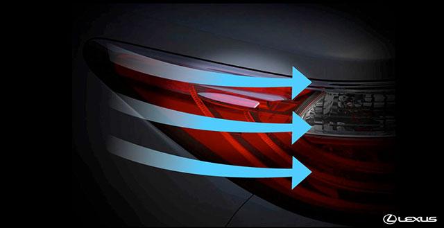 Lexus ES Taillights