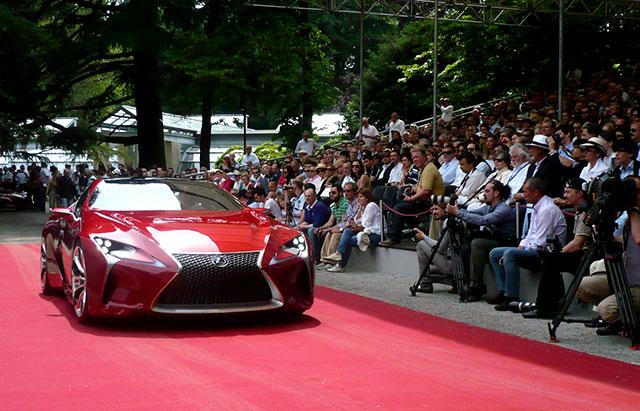 Lexus LF-LC in Italy