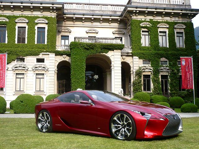 Lexus LF-LC in Italy 3
