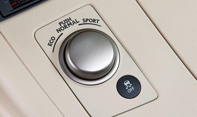 Lexus ES Drive Mode Select