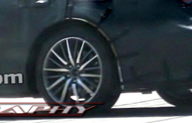 2013 Lexus LS F Sport Wheels