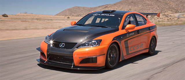 Lexus IS F CCS-R race car Pikes Peak