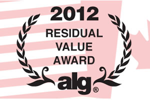 Lexus ALG Residual Value Awards