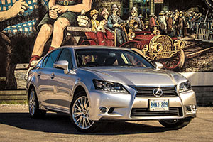 Lexus GS 350 AWD Mural Small