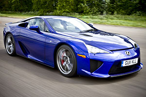 Lexus LFA Almost Sold Out