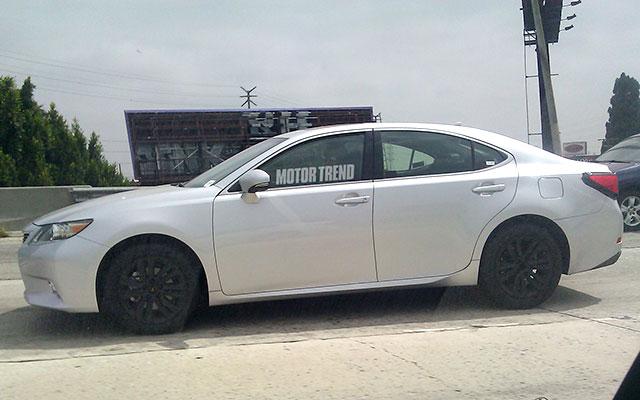 Mystery 2013 Lexus ES