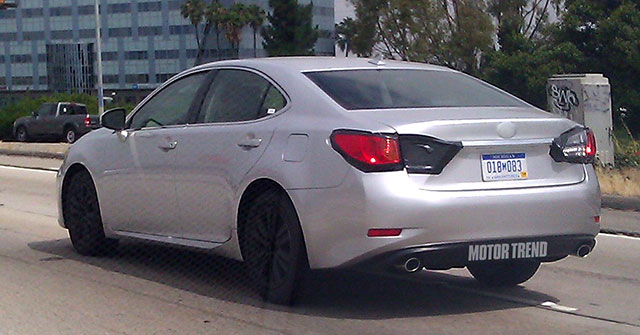 Mystery 2013 Lexus ES Rear
