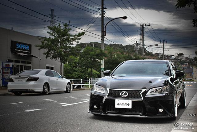 Lexus GS F SPORT Skipper Front Lip Spoiler 1