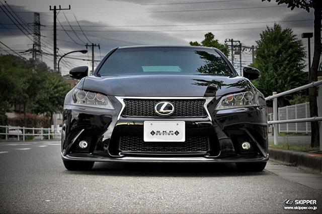 Lexus GS F SPORT Skipper Front Lip Spoiler 2
