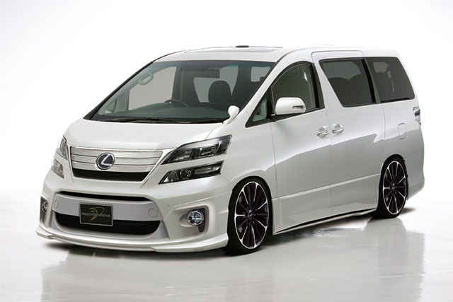 Lexus Minivan By Wald International Lexus Enthusiast