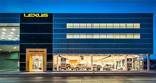 Lexus Downtown Lead Image