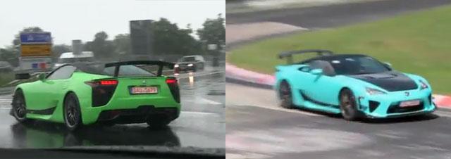 Lexus LFA AD-A & AD-B