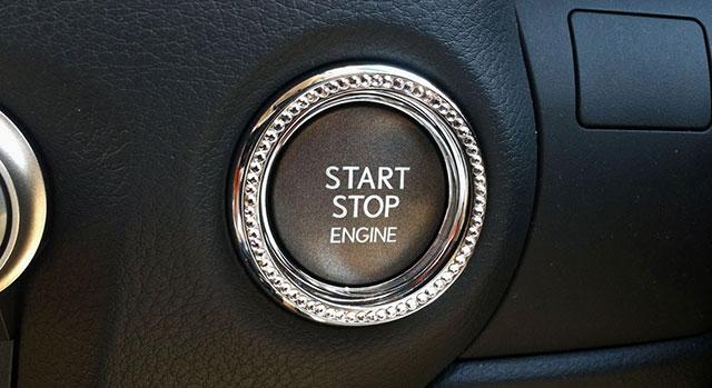 Lexus GS LX Mode Bedazzled Start Button