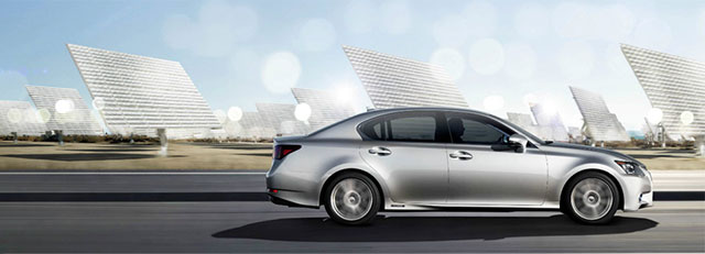 Lexus GS Solar Power