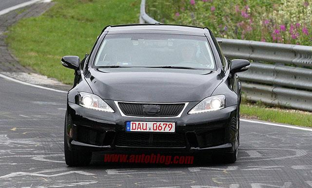 2014 Lexus IS F Convertible Front