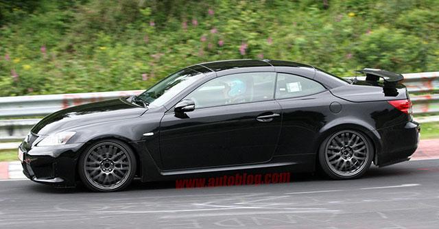 2014 Lexus IS F Convertible Side