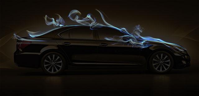 2013 Lexus LS Overlay