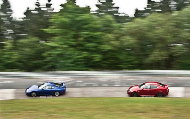 Lexus IS F & Toyota Supra