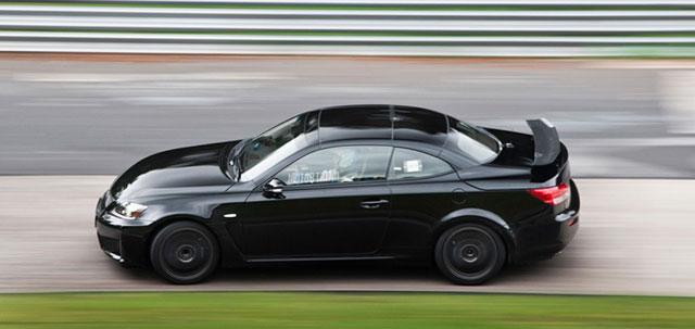 2014 Lexus IS F Convertible Test Mule