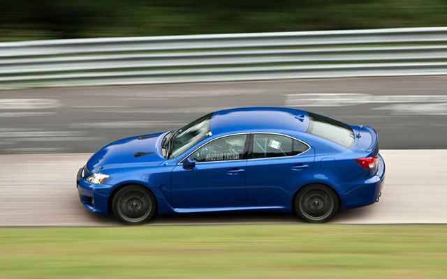 2012 Lexus IS F with Roll Cage