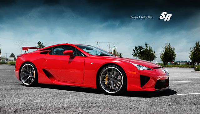 Project Reignfire Lexus LFA #022 Side 2
