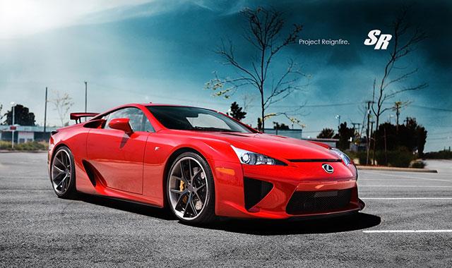 Project Reignfire Lexus LFA #022 Side