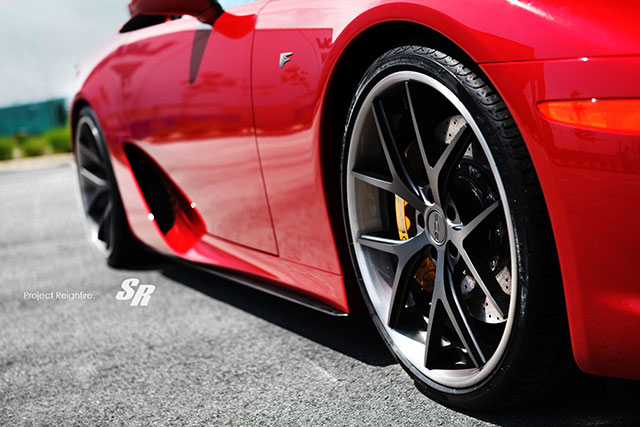 Project Reignfire Lexus LFA #022 Wheels