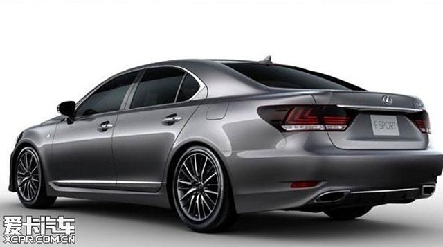 2013 Lexus LS F SPORT Rear