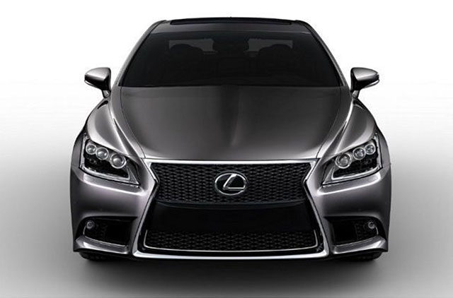 2013 Lexus LS F SPORT Revealed
