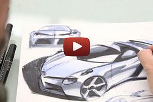Lexus LF-LC chief designer