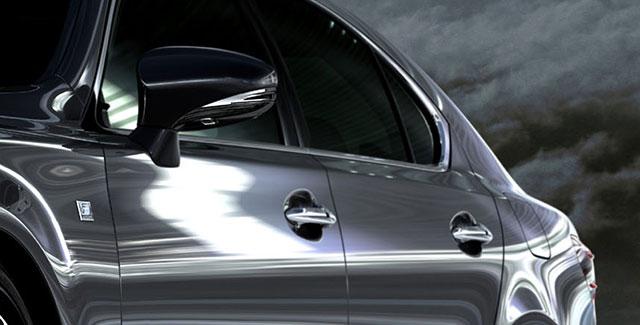 2013 Lexus LS F SPORT Side Profile