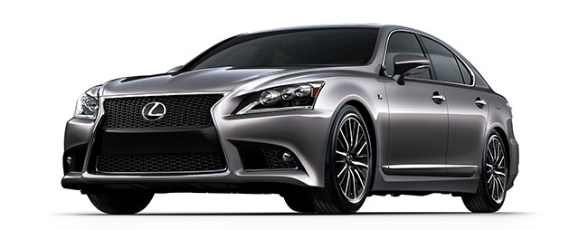 2013 Lexus LS F SPORT Photo Gallery